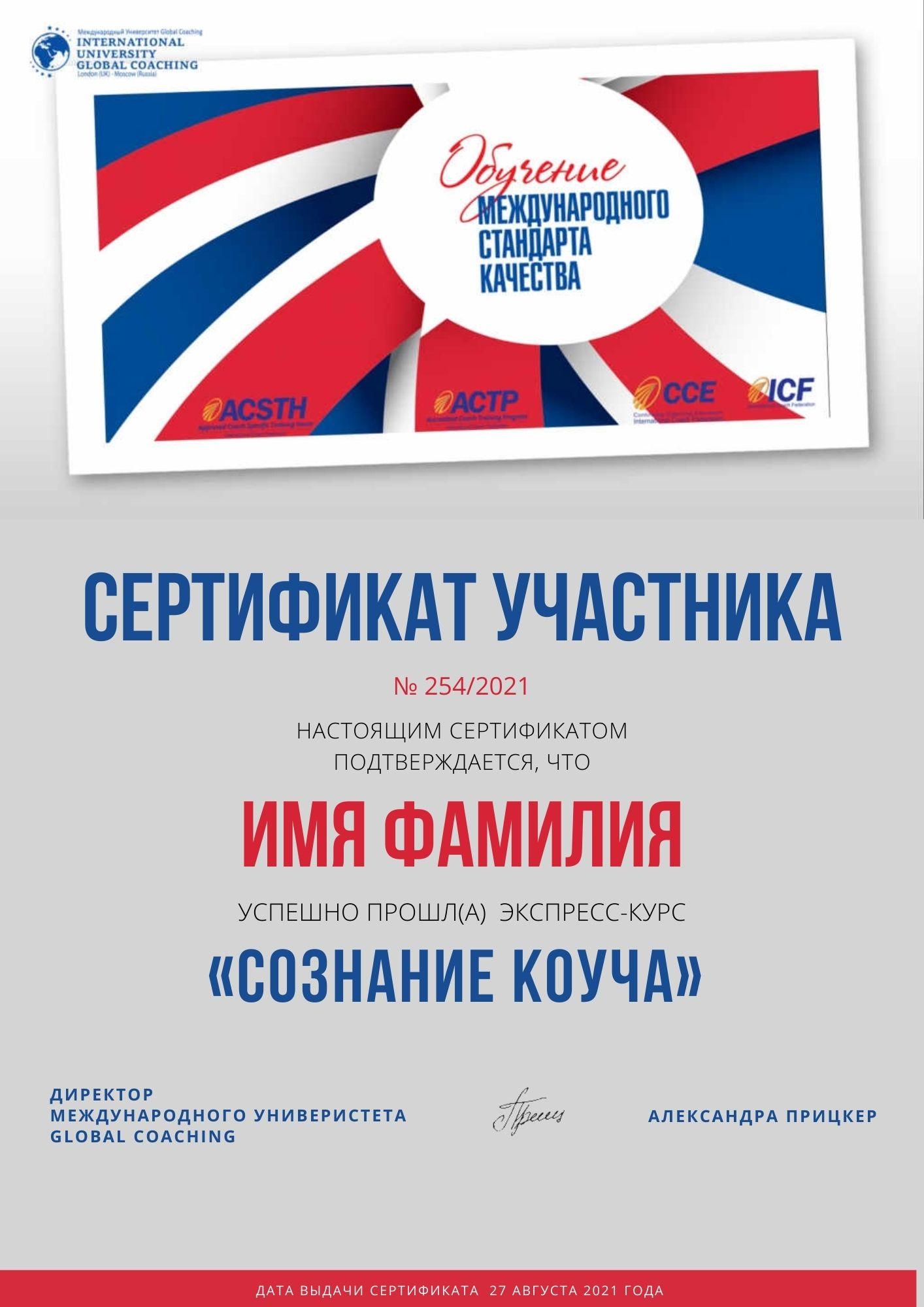 Сертификат участника (1)